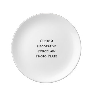 Create Custom Decorative Porcelain Photo Plate