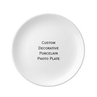 Create Custom Decorative Porcelain Photo Plate