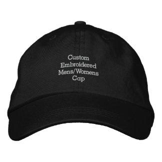 Create Custom Embroidered Mens/Womens Cap/Hat Baseball Cap