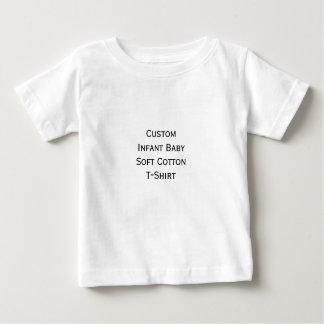 Create Custom Infant Boy Girl Soft Cotton Jersey Baby T-Shirt