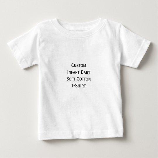 Create Custom Infant Boy Girl Soft Cotton Jersey