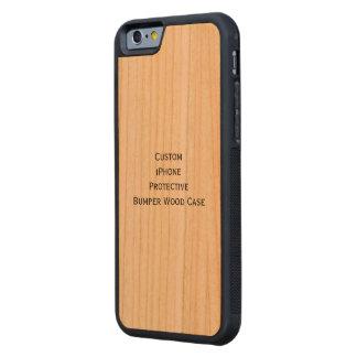 Create Custom iPhone Protective Bumper Wood Case