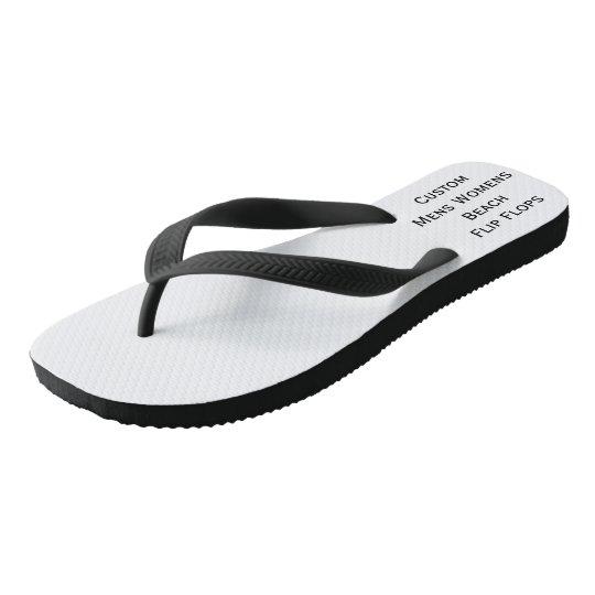 Create Custom Mens Womens Beach Flip Flops Sandals