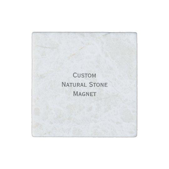 Create Custom Natural Stone Fridge Magnet