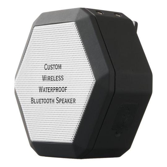 Create Custom Personalised Boom Bass Wireless Black Bluetooth