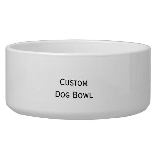 Create Custom Personalised Ceramic Pet Dog Bowl