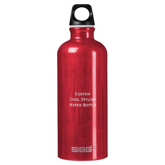 Create Custom Personalised Cool Stylish Aluminium Water Bottle