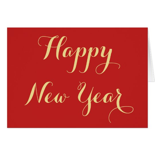 Create Custom Personalised Happy New Year Greeting Card