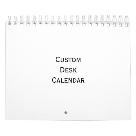 Create Custom Personalised Photo Desk Calendar