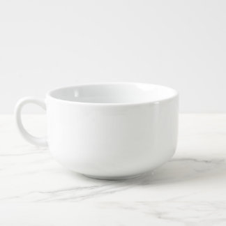Create Custom Photo Ceramic Soup Mug