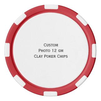 Create Custom Photo Poker Tournament Game Chips Set Of Poker Chips
