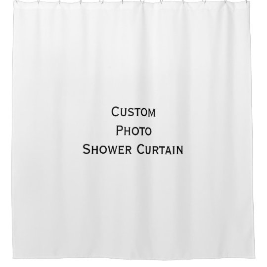 Create Custom Premium Photo Shower Curtain 71 x 71