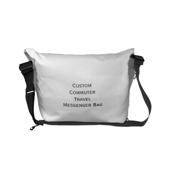 Create Custom Small Commuter Travel Messenger Bag