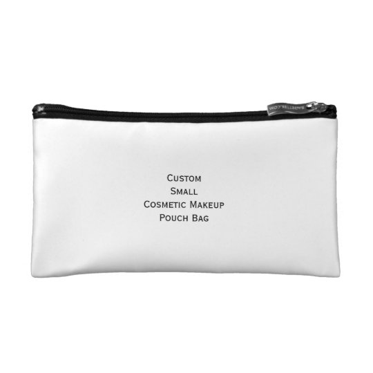 Create Custom Small Cosmetics Makeup Zip Pouch Bag