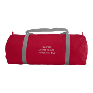 Create Custom Sports Club Travel Duffle Gym Bag