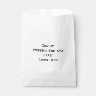 Create Custom Wedding Birthday Party Favor Bags