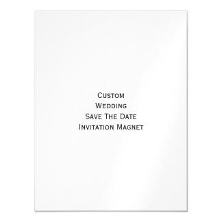 Create Custom Wedding Save The Date Photo Magnet Magnetic Invitations