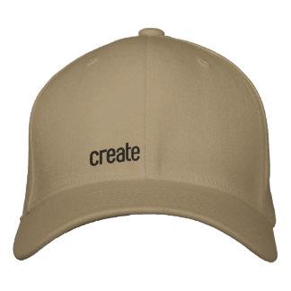 create embroidered baseball caps