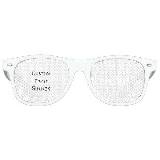 Create Fun Cool Custom Party Shades Sunglasses