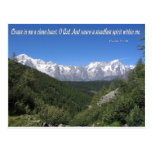 Create In Me A Clean Heart, Oh God Psalm 51:10 Post Cards