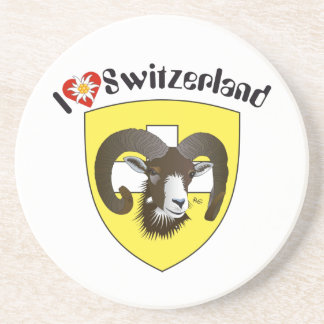 Create-live Switzerland beer covers Beverage Coasters