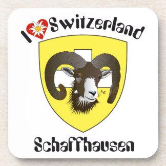 Create-live Switzerland cork reductors Drink Coasters