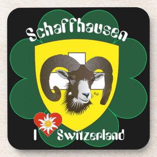 Create-live - Switzerland - Suisse - to Svizzera Beverage Coaster