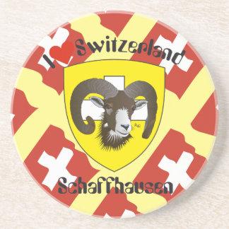 Create-live - Switzerland - Suisse - to Svizzera Drink Coaster