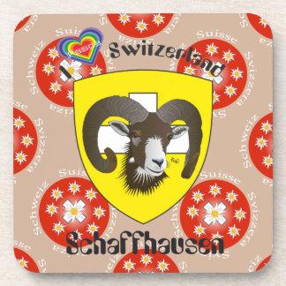 Create-live - Switzerland - Suisse - to Svizzera Drink Coasters