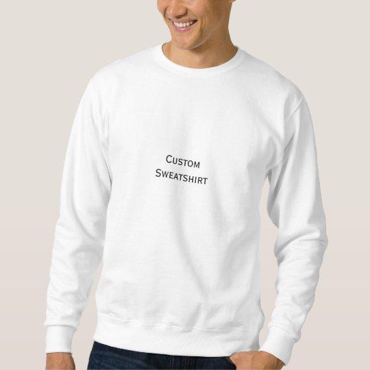 Create Mens Custom Personalised Classic Crewneck Sweatshirt