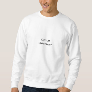 Create Mens Custom Personalized Classic Crewneck Sweatshirt