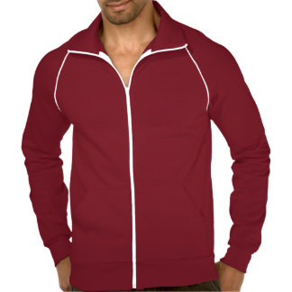 Create Mens Custom Warm Fleece Track Jacket