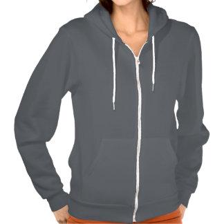 Create My Own Asphalt Dark Grey Zip Hoodie