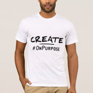 Create #OnPurpose Men's American Apparel T-Shirt