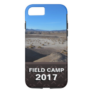 Create Your Geology Field Camp Photo iPhone 8/7 Case