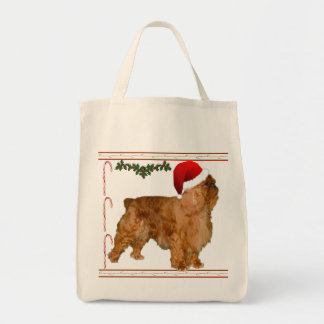 Create Your Holiday Photo Grocery Tote Bag