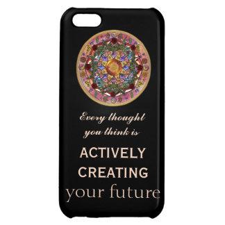 Create your Life Cosmic Mandala iPhone 5C Cover