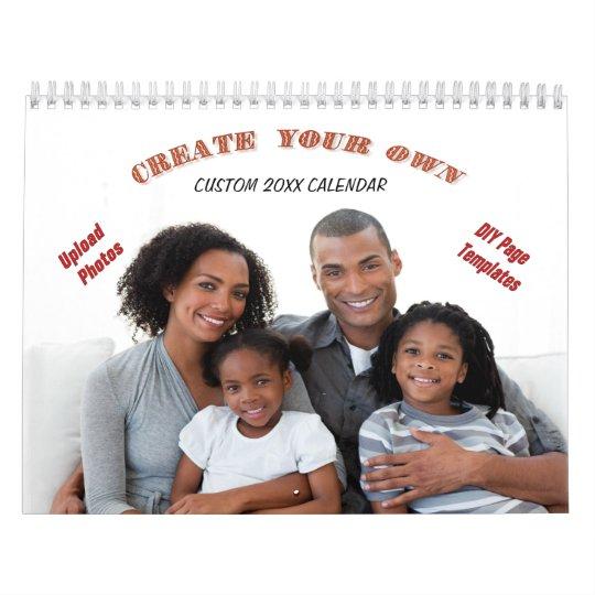 Create Your Own 2018 Custom Calendar