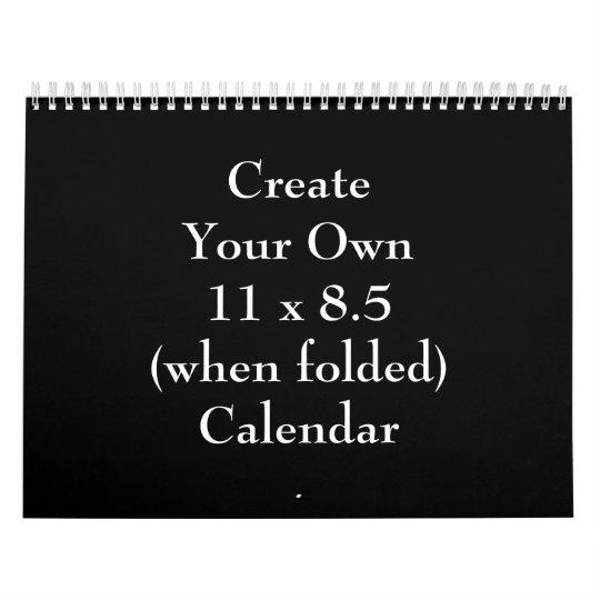 Create Your Own ~ 2018 Wall Calendar