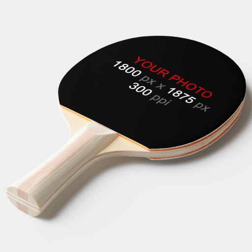 Create Your Own 2 Photos Custom Ping Pong Paddle Ping Pong Paddle