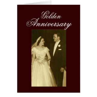 Create your own 50th Anniversary Invitations Greeting Card