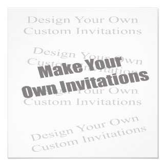 Create Your Own 5 x 5 Personalized Card