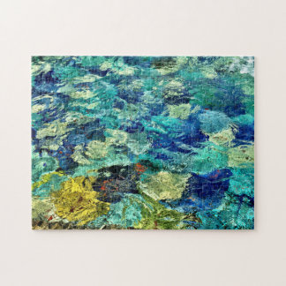 Create Your Own Abstract Art 11 x 14 Jigsaw Puzzle