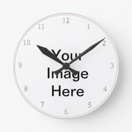 Create Your Own- Add Image Custom Text Round
