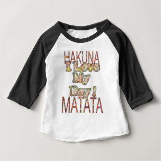 Create Your Own Africa Vintage Colors Hakunamatata Baby T-Shirt