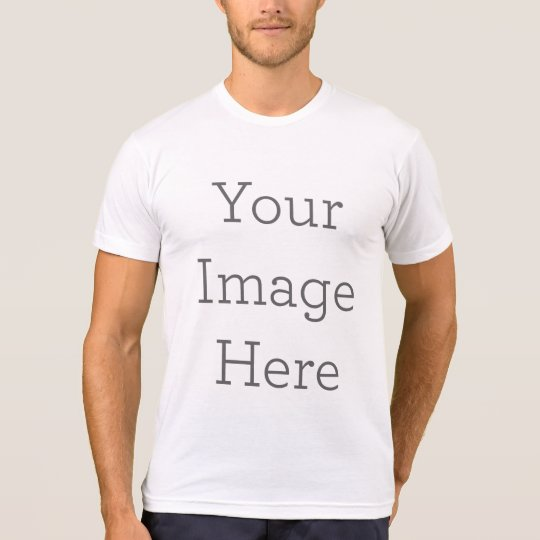 f15e35eb1 Create Your Own American Apparel Poly-Cotton Blend T-Shirt   Zazzle.co.uk