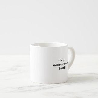 Create your own awesome large espresso mug!