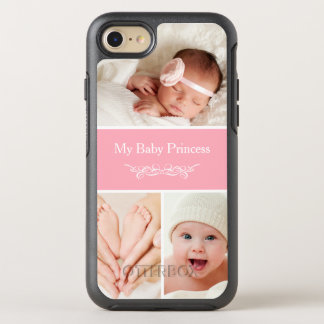 Create Your Own Baby Photo Collage OtterBox Symmetry iPhone 8/7 Case