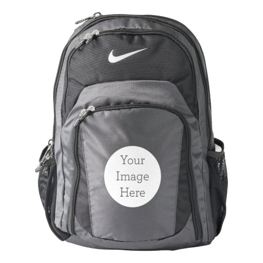 Custom Nike Performance Backpack, Anthracite/Black