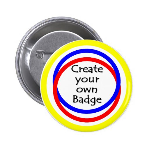 Create your own badge button